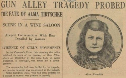 Ivy Matthews testifies in the Alma Tirtschke case