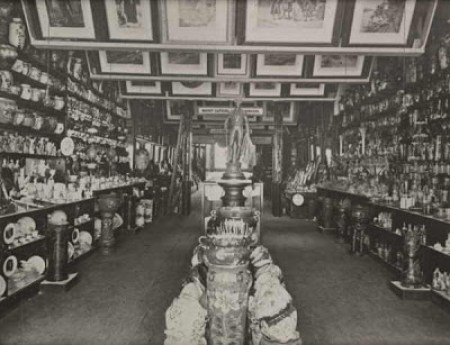 Interior of Cole's Book Arcade