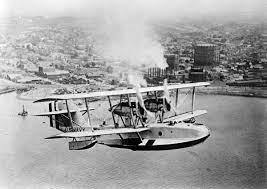 A passenger plane from the 1920s