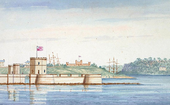 Before Sydney Opera House: Fort Macquarie