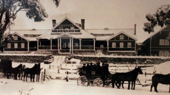 The 'Buffalo Chalet', circa 1919.