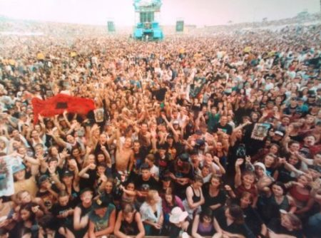 Guns n Roses at Calder Park: the view from the stage