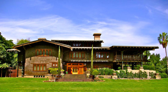 The real Back to the Future House: The Gamble House