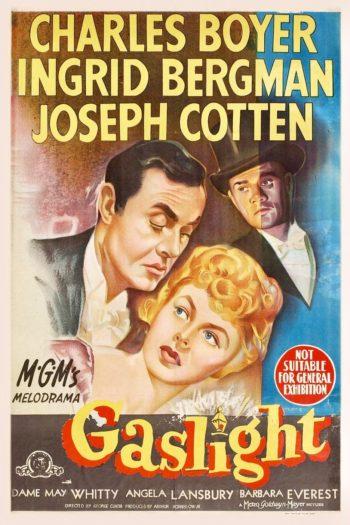 Words that originated in movies: gaslight