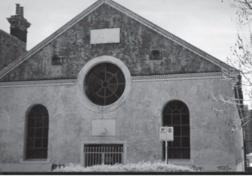 The Gore Street Church, Fitzroy.