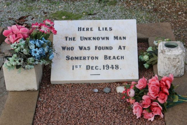 The Somerton Man's grave site