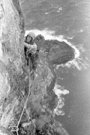 Perilous: climbing Ball's Pyramid