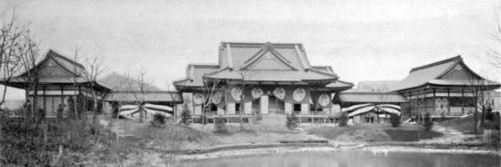 The Japanese pavilion at the 1893 Exposition