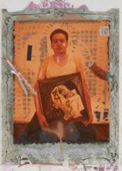 Tribute artwork 'Picasso Theft', by Juan Davila