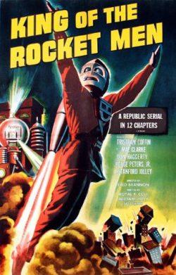 'King of the Rocket Men' movie poster