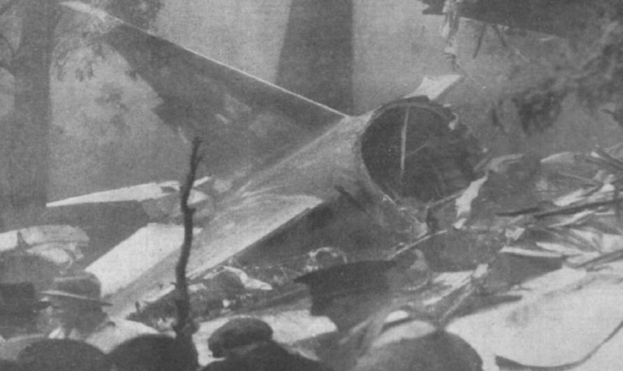 Plane Crash on Mount Dandenong
