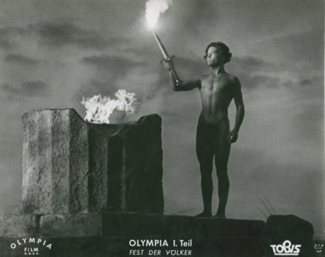 Promotional poster for 'Olympia'