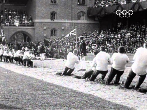 Discontinued Olympic sports: Tug of war
