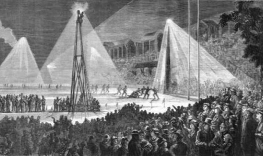 The First Night Football Match