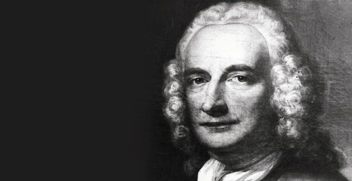 A picture of English novelist Henry Fielding