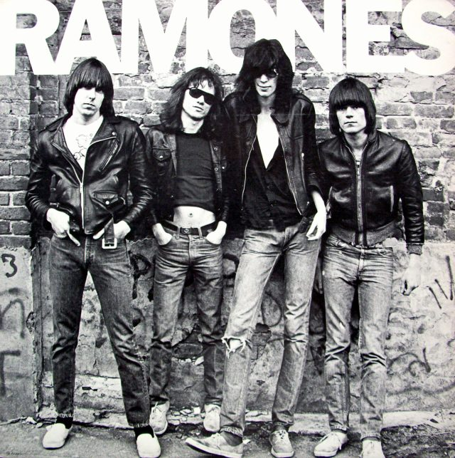 The inconic cover of the first Ramones album