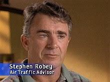 Air Traffic Controller Steve Robey.