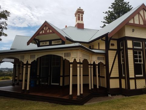 Point Nepean Quarantine Station: Superintendents residence