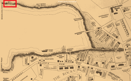 Before the Sydney Opera House: Sydney in 1810