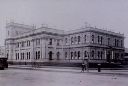 Carlton Trades Hall, circa 1890.
