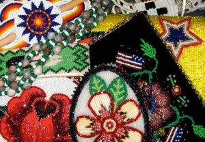 Examples of native American beadwork