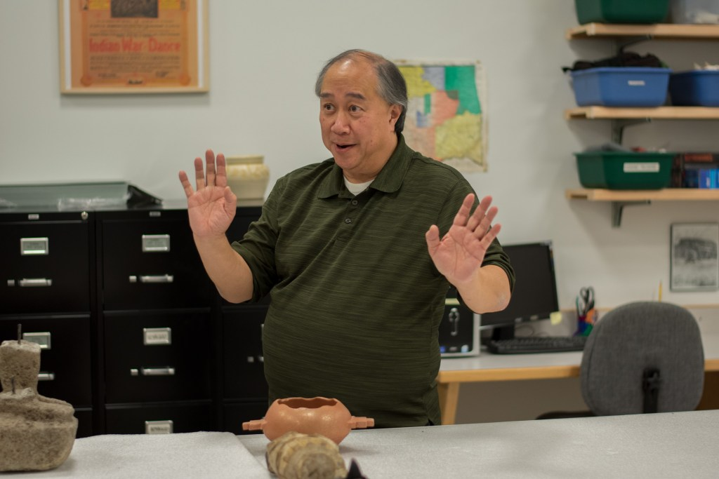 Henry Moy, Director of the Museum of the Red River