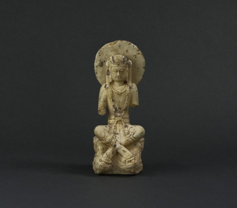 Buddhist Deity, ca. 5th century, AD. Northern Jin Dynasty