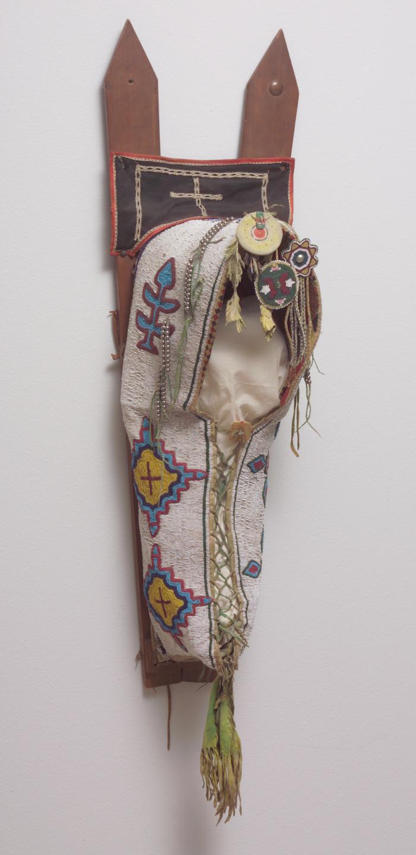 Lattice Cradle, ca. 1890. Kiowa (Plains).