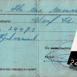 Herinneringen van oud-opvarende Hans van der Werff