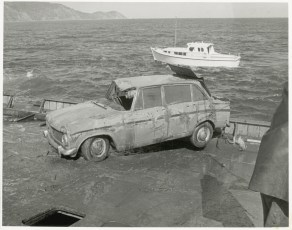 Car salvaged from the TEV Wahine wreck