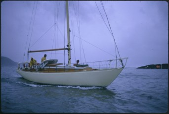 "Unknown vessel and crew during the ""Wahine"" storm"