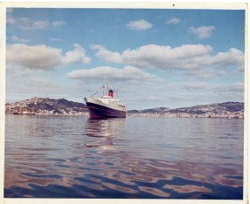 TEV Wahine in Wellington Harbour on her maiden voyage