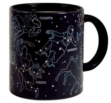 Constellation Heat-Change Mug, Mug, Gift, Science, Homewares, Constellation