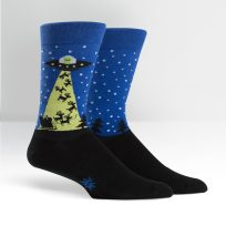 Aliens Stole Christmas Socks