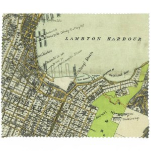 Wellington Map Lens Cloth