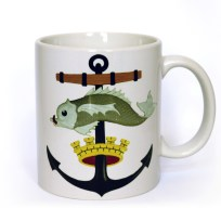 Wellington Harbour Board Crest Mug