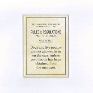 Gripmen Rules Dogs Magnet