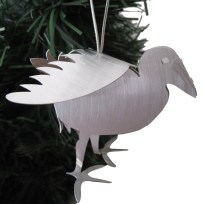 Pukeko Aluminium Hanging Sculpture, Gift, Decoration, Sculpture, Pukeko