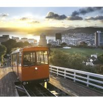 Cable Car Sunrise Print