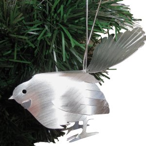 Fantail Aluminium Hanging Sculpture, Decoration, Sculpture, Christmas, Fantail