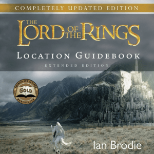 Lord of the Rings Location Guidebook, Lord of the Rings, Book, New Zealand, Guidebook, Gift, Souvenir, Tourism