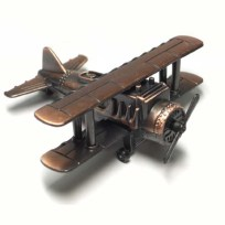 Biplane Pencil Sharpener, Plane, Sharpener, Gift