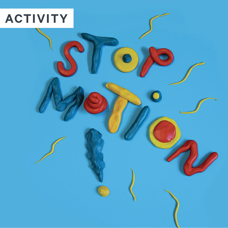 Spring School Holidays at Space Place: Stop Motion!