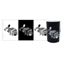 Bunny flatpack tealight lantern