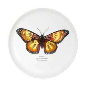 Large Monarch Plate
