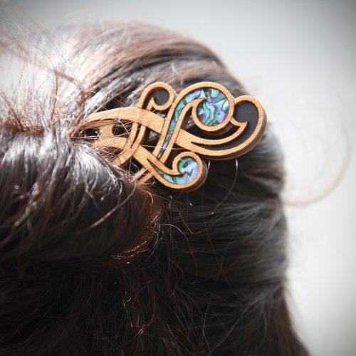 Heru Māori Hair Comb