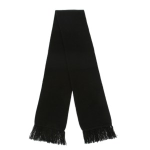 Plain Black Scarf