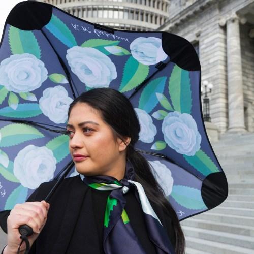 Kate Sheppard Camellia Metro BLUNT Umbrella
