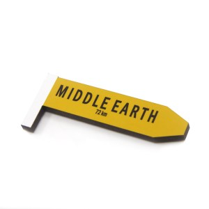 Middle Earth Road Sign Magnet