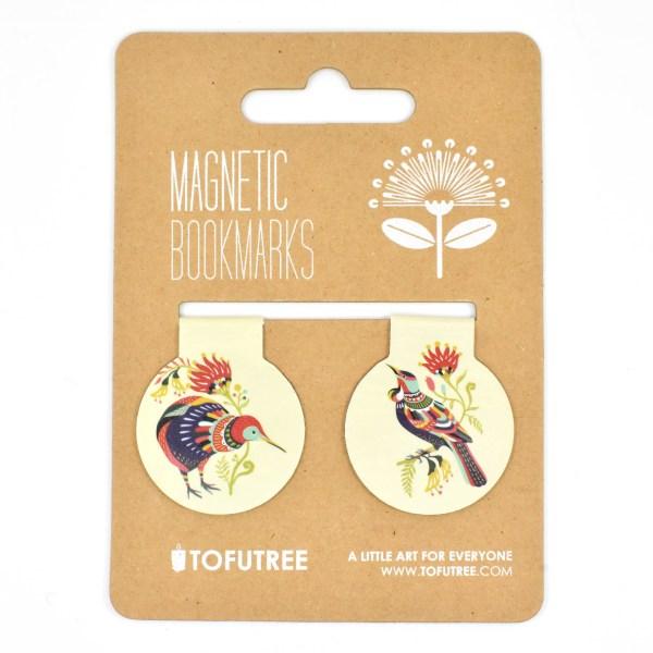 Gift, Tofutree, Bookmark, Kiwi, Tui, Stationery
